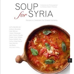 New Anthony Bourdain Soup for Syria cookbook